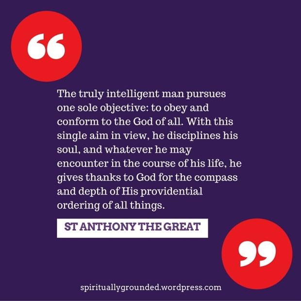 St Anthony-intelligent man
